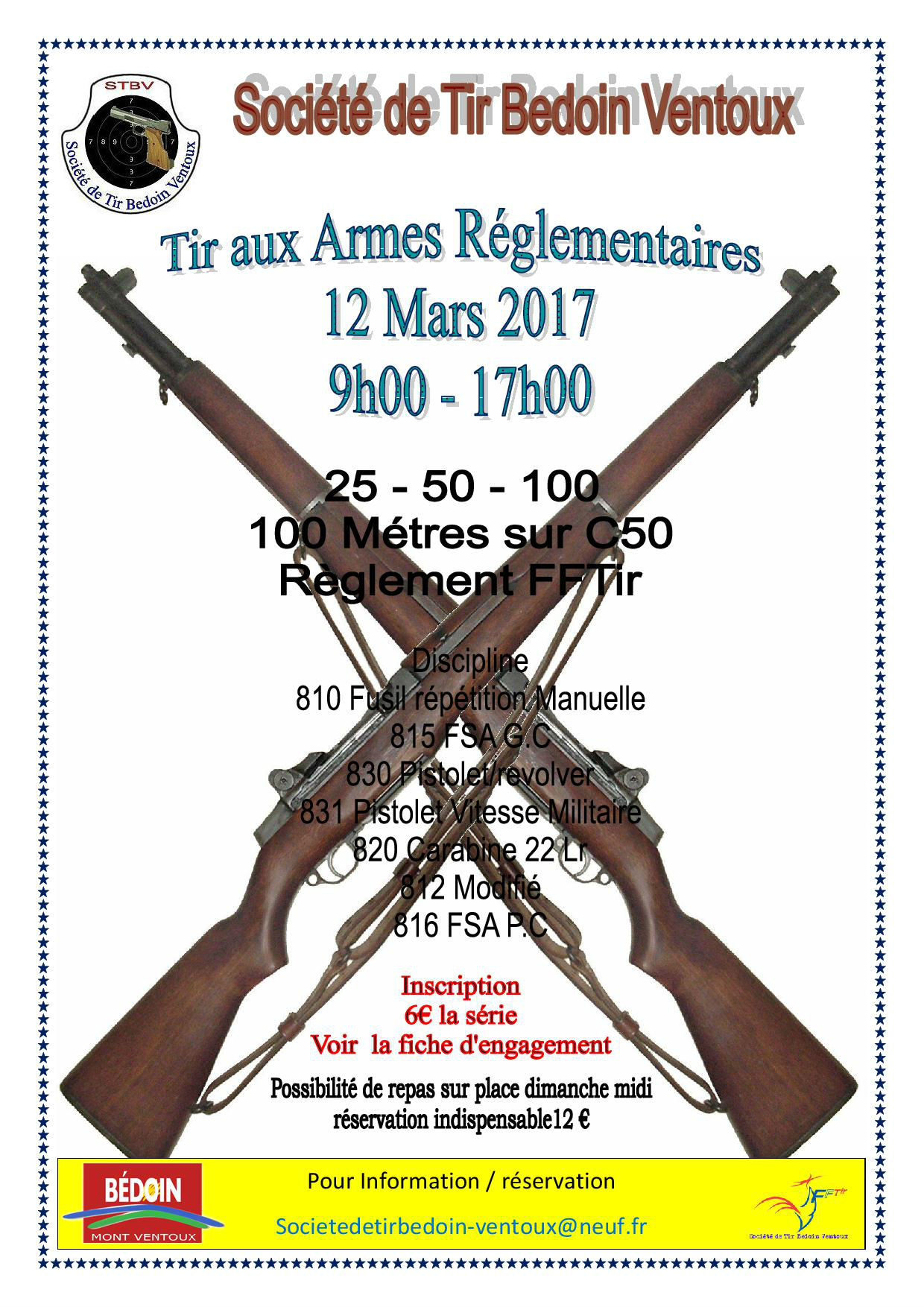 affiche Concours TAR BEDOIN 2017